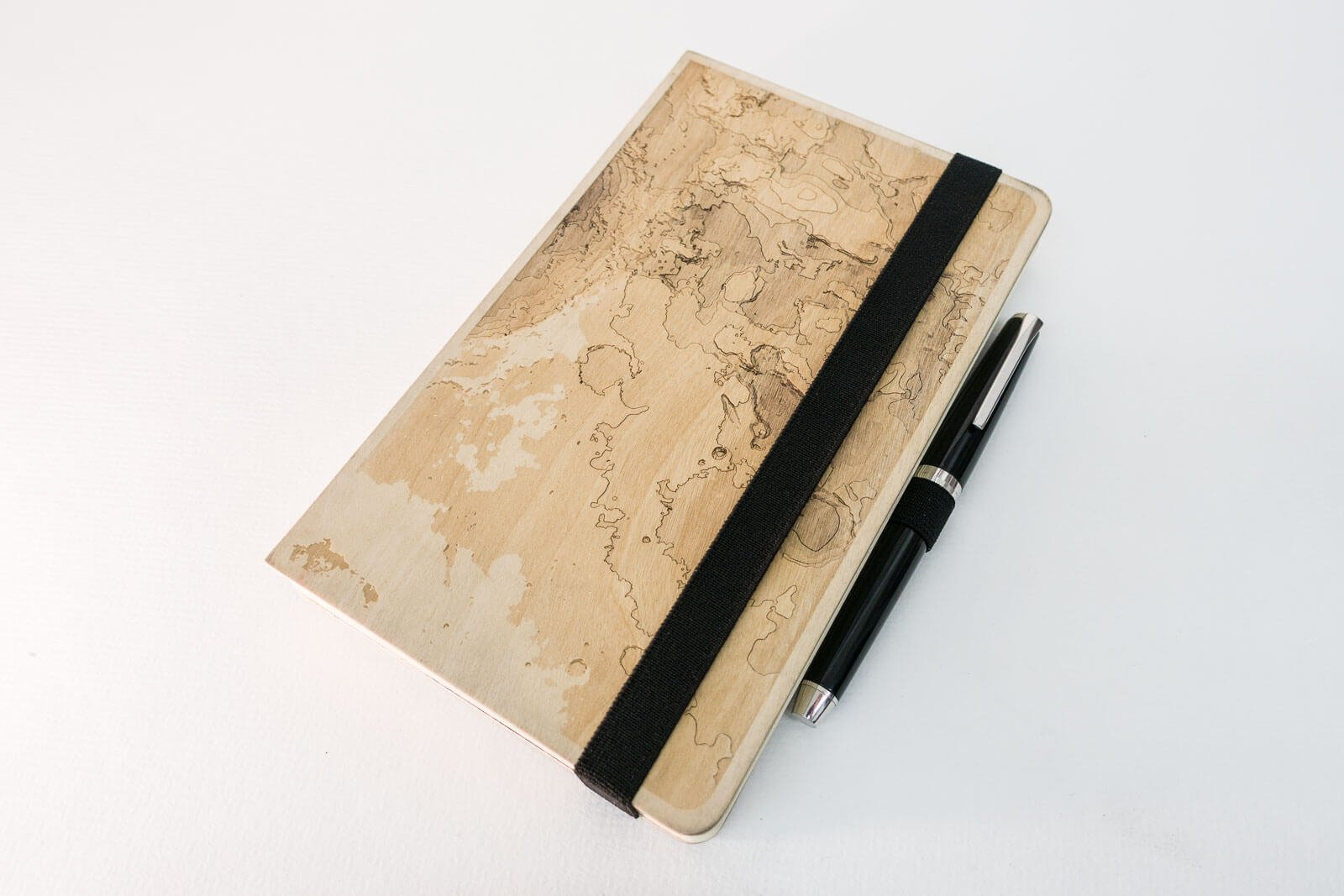 Lasercut Mars Sketchbook - Front View