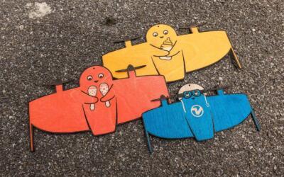 Vitoli - Eine freundliche Drone - Familie