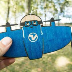 Vitoli - A friendly drone - Blue pilot ready for first flight